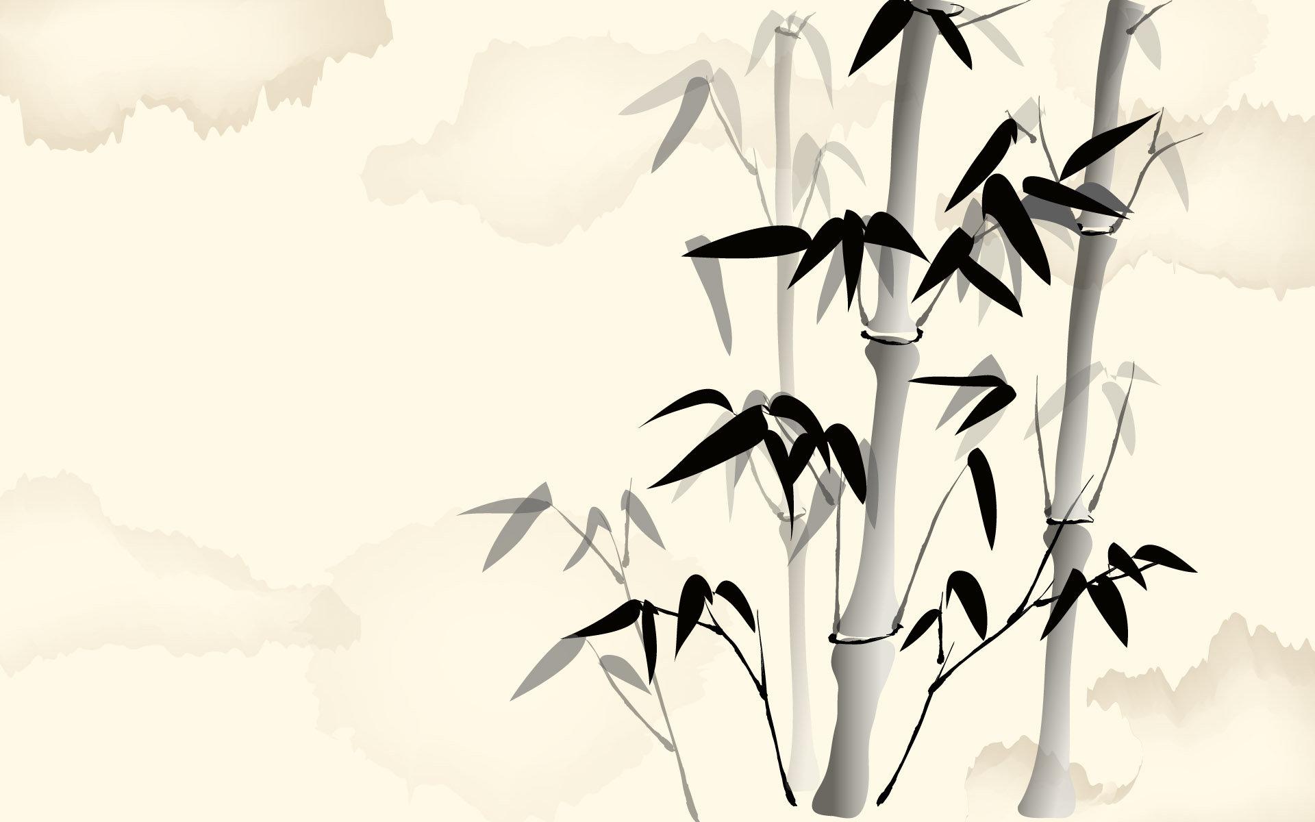 古风图库 中国风简笔国画风格10张清晰大图2
